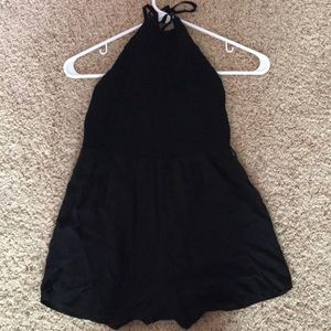 Black urban outfitters romper